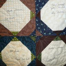 Mavis's Retirement Quilt