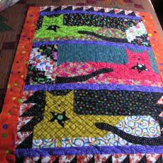 Jane's Kitty Quilt for Clara
