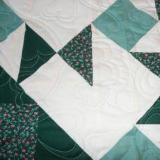 Janice's Hour Glass Quilt