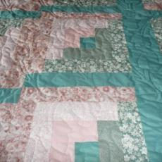 Janice's Log Cabin Quilt