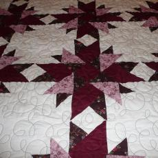 Twila's Little Dahlia Surprise Quilt