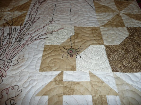 Calendula Patterdrip's Cottage Quilt