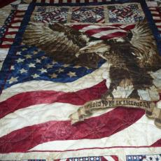 Jo's 2nd Eagle QOV quilt