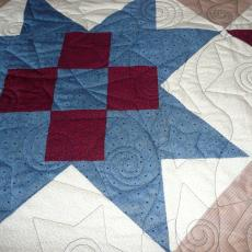 Jo's 4th Quilts of Valor Quilt