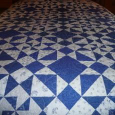Sawtooth Barn Quilt