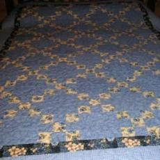 Judy's Irish Chain Quilt