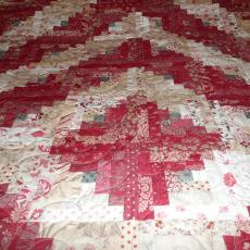 French General Leftovers Quilt