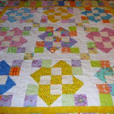 Karyl's Jelly Baby Quilt