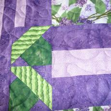 Kathy's Lilac Quilt