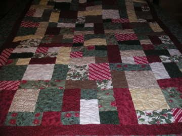 Kathy's Christmas Quilt