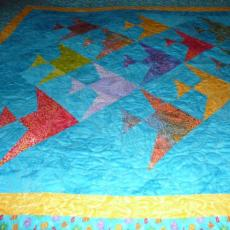 Kathy's Fish Quilt