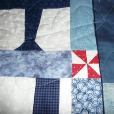 kathy's Airplane Quilt