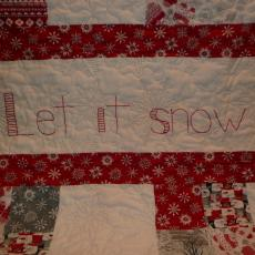 Let It Snow Winter Quilt