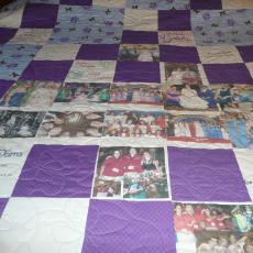 Laurie's Rainbow Girls Quilt