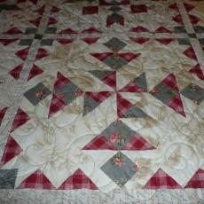 Linda's Love Letters Quilt