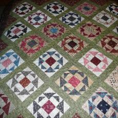 Linda's Roses and Thorns Quilt