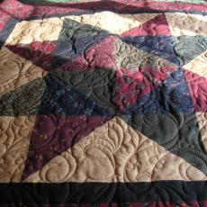 Lisa's Christmas Star Quilt