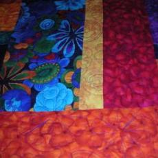 Lisa's Happy Bright Quilt