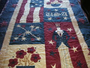 Lisa's 4th of July Quilt