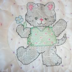 Liz's Second Embroidered Baby Quilt