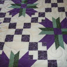 Lois's Mountain Lily Quilt