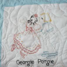 Lori's Newest Nursery Quilt