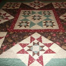 Stephanie's Star Quilt