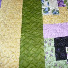 Luci's Pansy Quilt