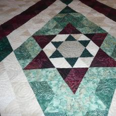 Lucille's Pyramid Quilt