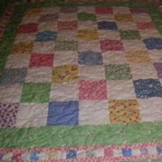 Another Baby Quilt By Lynn