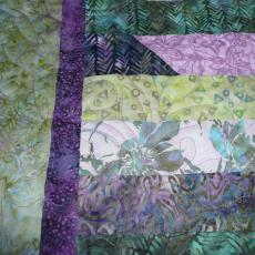 Marcia's Jelly Roll Quilt