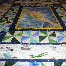 Marge's Tinkerbell Quilt