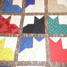 Elizabeth and Mittens Quilt