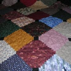 Marie's Courthouse Steps Quilt