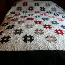 Marilyn's Churn Dash Quilt