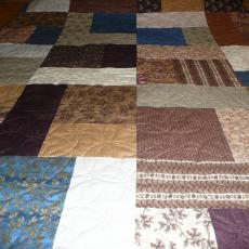 Mary's Civil War Reproduction Fabric Quilt