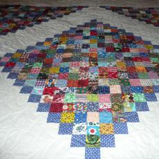 Mary's Abundant Feather Quilt