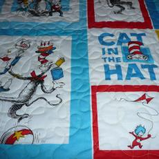 Cat in the Hat Quilt
