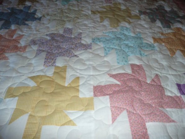 Mary's Windmill Quilt