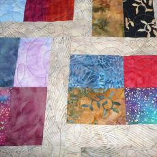 Mary's Arizona Batik Quilt