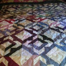 Mary's Scrappy Quilt