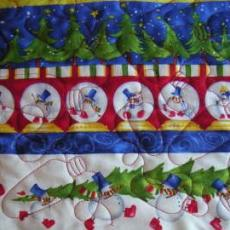 Quilted Kitty's Christmas Quilt