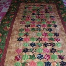Quilted Kitty Fall Runner
