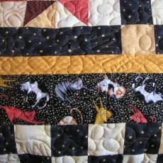 Nanci's Scrappy Kitty Quilt