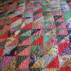 Norma's Triangle Quilt
