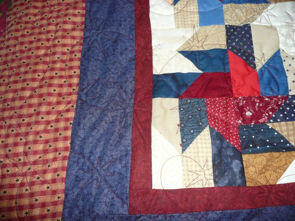 Bonnie's Quilt of Valor Quilt