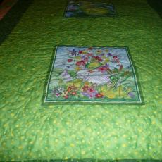 Rennie's Frog Quilt backing