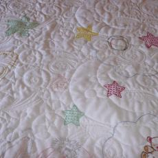 Roberta's Quilt for a new Great Granddaughter