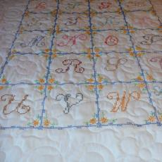 Rose Mary's ABC Quilt