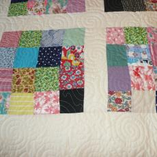 Little Patches  Scrappy Quilt